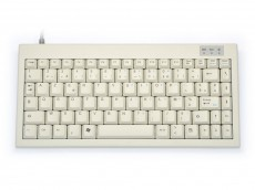 Mini keyboard, Beige, USB, French