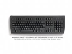 Standard Foreign Language Keyboards, Black, PS/2