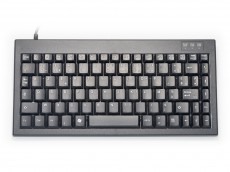 Mini keyboard, Black, USB, French