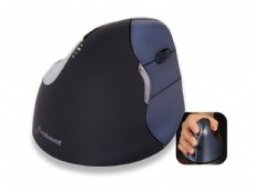 Evoluent VerticalMouse 4, Right Handed, Laser, Wireless