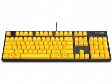 Filco Majestouch-2, MX Brown Tactile, USA, Yellow Keys Keyboard