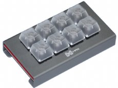 Falcon-8 Assembled Grey Programmable Mini 8-Key Tactile Pad