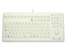 InduKey Induproof Advanced - Compact Silicone Keyboard with Mouse Button IP68