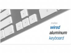 Matias Wired Aluminum Keyboards for Mac