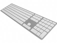 USA Matias Bluetooth Aluminum Keyboard Silver