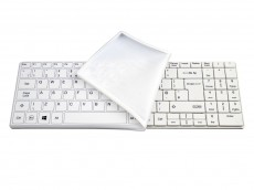 UK Medical Grade Mini UK Keyboard Waterproof with Detachable Cover