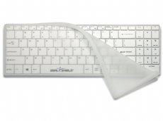 Clean Wipe Medical Grade Mini USA Keyboard Waterproof with Detachable Cover