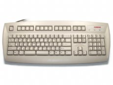 Thai keyboard, beige, PS/2
