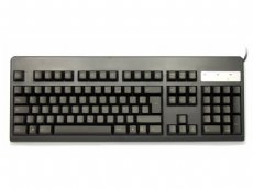 French Topre Realforce 105UB 45g Light Gold on Black Keyboard