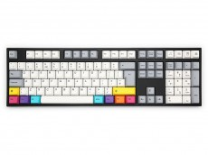 UK VA109M CMYK PBT Backlit MX Brown Tactile Keyboard