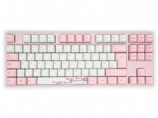 UK VA88M Sakura PBT Backlit MX Brown Tactile TenKeyLess Keyboard