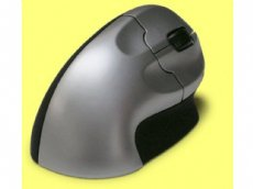Vertical Grip mouse, wireless, optical USB